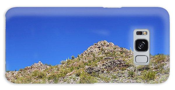 Desert Mountaintop Galaxy Case by Ed Cilley