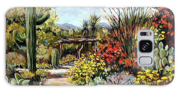 Desert Museum Garden Tucson Galaxy Case