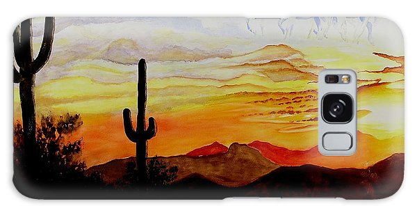 Desert Mustangs Galaxy Case