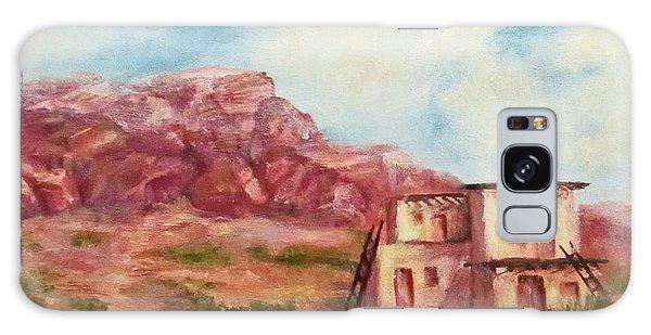 Desert Pueblo Galaxy Case by Roseann Gilmore