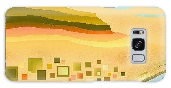Desert River Galaxy Case