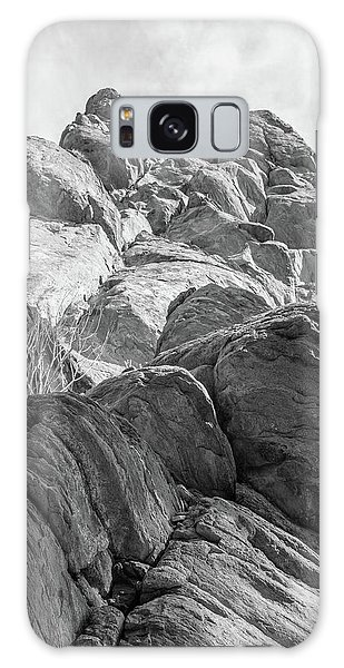 Galaxy Case featuring the photograph Desert Rock Formation by Frank DiMarco
