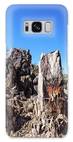 Desert Rocks Galaxy Case by Ed Cilley
