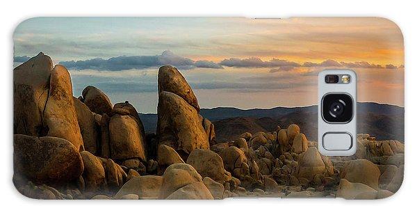Desert Rocks Galaxy Case