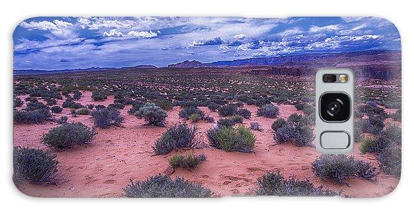 Desert Flora Galaxy Case - Desert Sky by Garry Gay