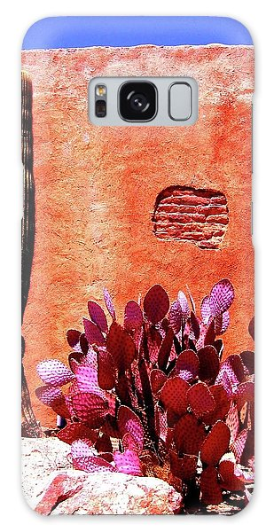 Galaxy Case featuring the photograph Desert Solace by Michelle Dallocchio