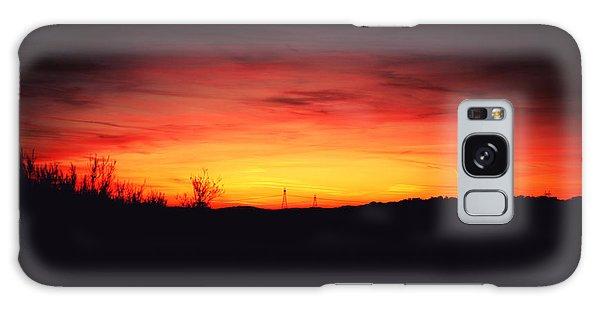 Desert Sundown Galaxy Case