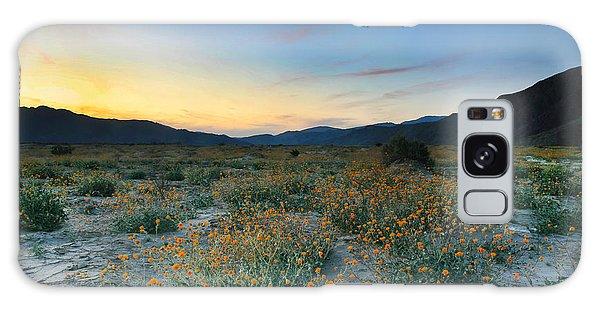 Desert Sunflower Sunset Galaxy Case