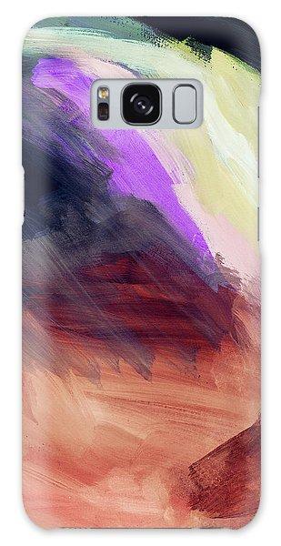 Desert Sunset Galaxy S8 Case - Desert Sunset 2- Abstract Art By Linda Woods by Linda Woods