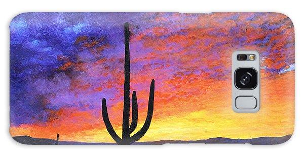 Desert Sunset 4 Galaxy Case