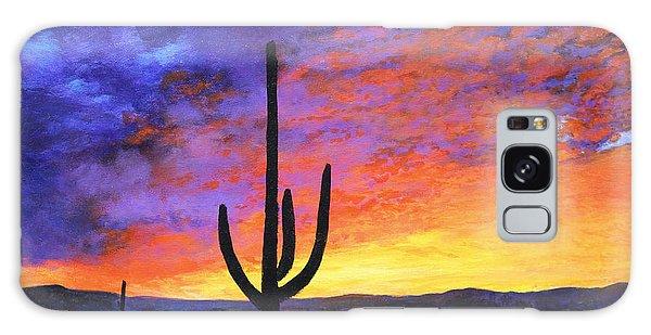 Desert Sunset 4 Galaxy Case by M Diane Bonaparte