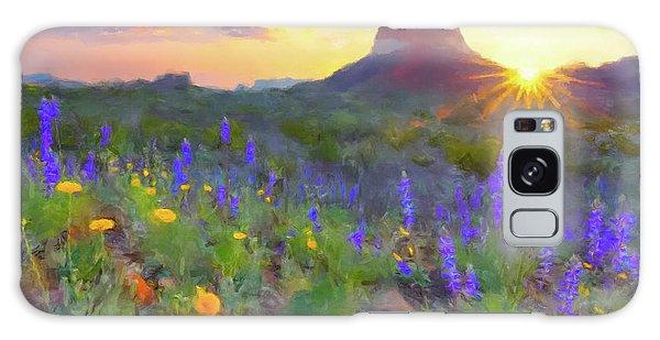 Desert Sunset Galaxy S8 Case - Desert Sunset by Gary Grayson