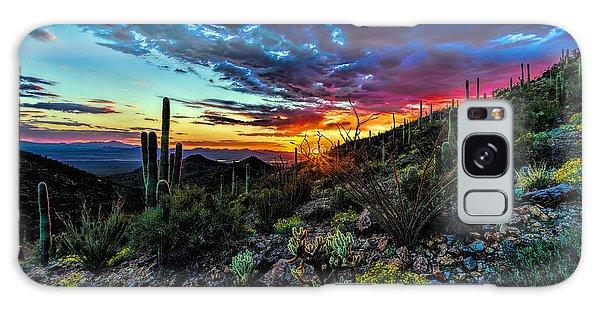 Desert Sunset Hdr 01 Galaxy Case