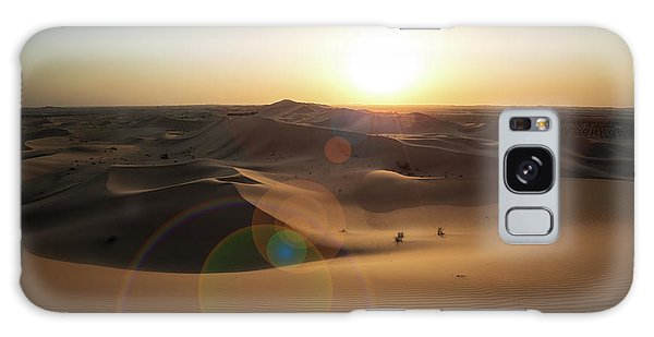 Desert Sunset Galaxy S8 Case - Desert Sunset by Reinier Snijders