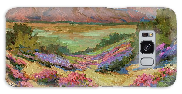 Desert Verbena At Borrego Springs Galaxy Case