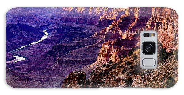 Desert View Tower Galaxy Case - Desert View Point - Grand Canyon - Arizona by Jon Berghoff