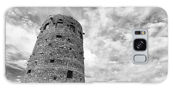 Desert View Tower Galaxy Case - Desert View Watch Tower by Stephanie McDowell