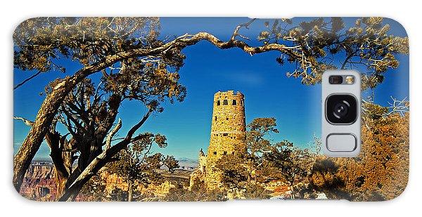 Desert View Watchtower, Grand Canyon National Park, Arizona Galaxy Case