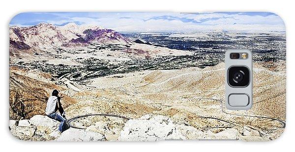 Desert Viewer  Galaxy Case