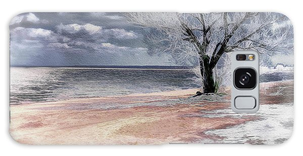 Deserted Beach Galaxy Case
