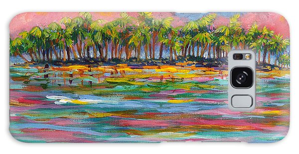 Deserted Island Galaxy Case by Anne Marie Brown