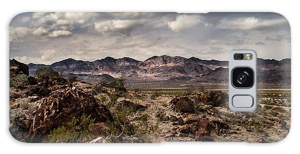 Deserted Red Rock Canyon Galaxy Case by Jason Moynihan
