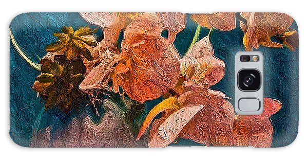 Designer Floral Arrangement Galaxy Case