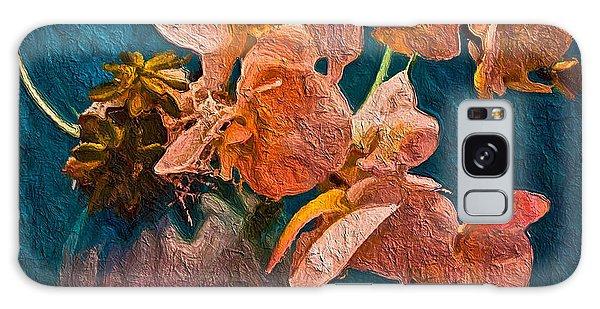 Designer Floral Arrangement Galaxy Case by Joan Reese