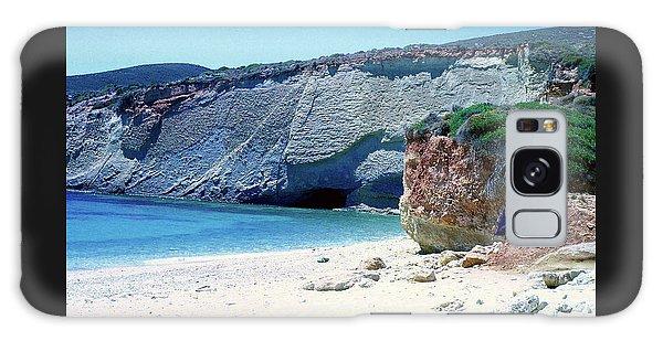 Desolated Island Beach Galaxy Case