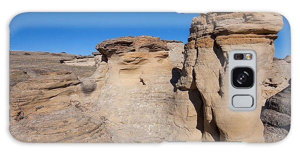 Galaxy Case featuring the photograph Destination Hoodoos by Fran Riley