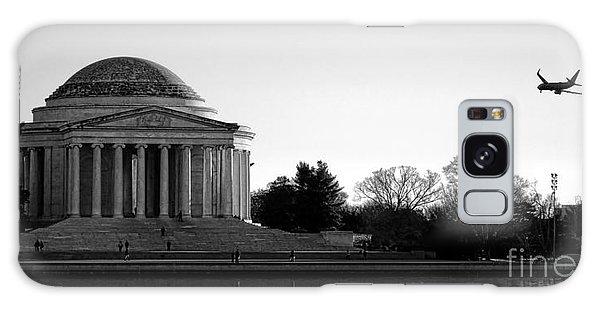 Jefferson Memorial Galaxy S8 Case - Destination Washington  by Olivier Le Queinec