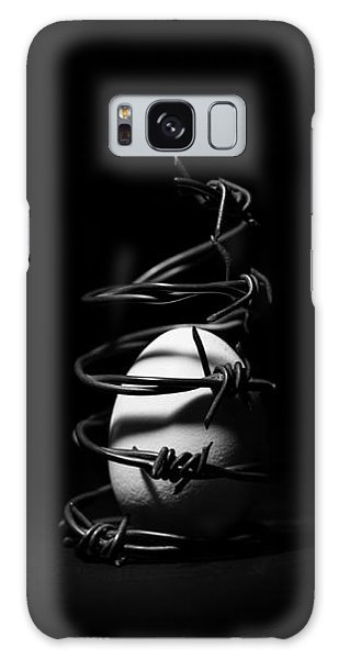 Destined To Be A Prisoner For Life - The Dark Side Of It All Galaxy Case by Yvette Van Teeffelen