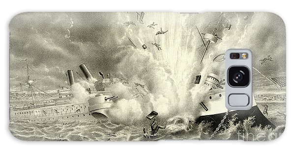 Shipwreck Galaxy Case - Destruction Of The Us Battleship Maine, 15th February, 1898 by American School