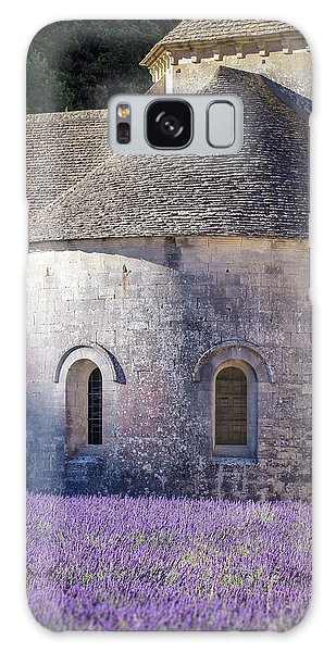 Detail Of Abbaye Senanque, Church In Provence, Southern France, Surrounded By Lavender Galaxy Case