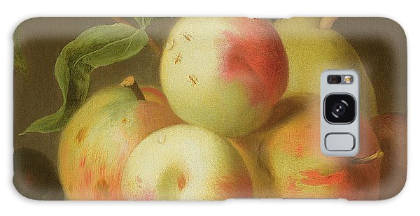 Detail Of Apples On A Shelf Galaxy Case
