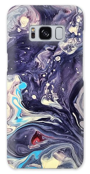 Detail Of Fluid Painting 1 Galaxy Case