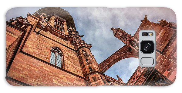 Detail Of Freiburg Cathedral Germany  Galaxy Case