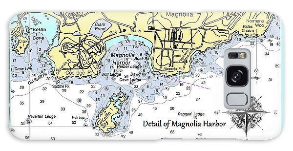 Detail Of Magnolia Harbor Galaxy Case