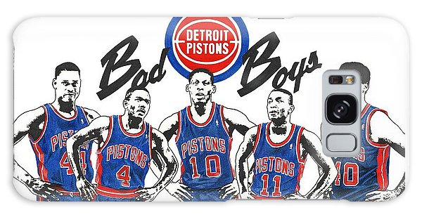 Detroit Bad Boys Pistons Galaxy Case
