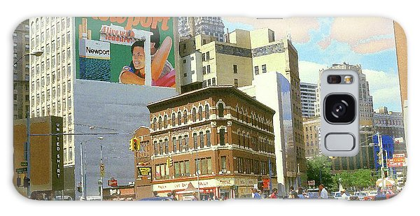 Detroit Michigan 84 - Watercolor Galaxy Case