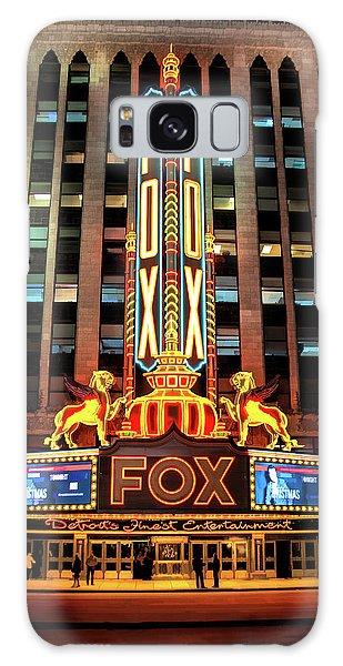 Detroit Fox Theatre Marquee Galaxy Case