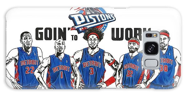 Detroit Goin' To Work Pistons Galaxy Case