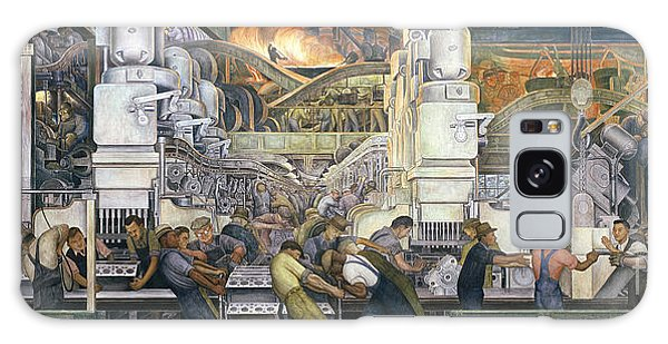 Motor Galaxy Case - Detroit Industry   North Wall by Diego Rivera