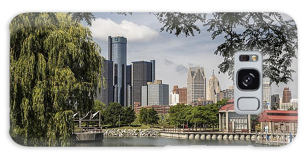 Detroit Skylin And Marina  Galaxy Case