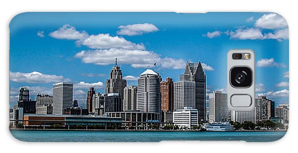 Detroit Skyline Galaxy Case