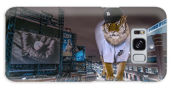 Detroit Tigers At  Comerica Park Galaxy Case