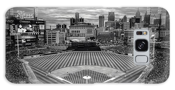 Detroit Tigers Comerica Park Bw 4837 Galaxy Case