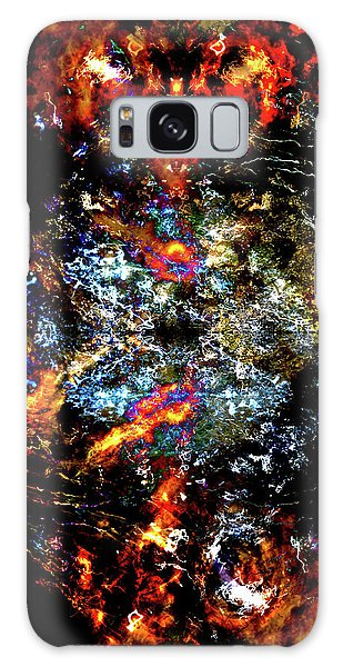 Devil In A Top Hat Galaxy Case