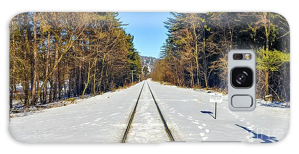 Galaxy Case featuring the photograph Devil's Lake Railroad by Ricky L Jones
