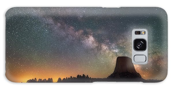 Galaxy Case featuring the photograph Devils Night Watch by Darren White